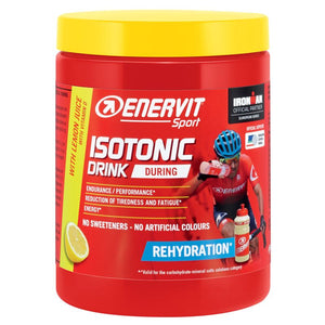 ENERVIT Isotonic Drink 420G Tubs Lemon