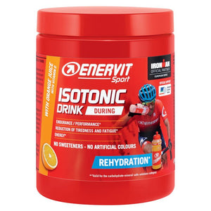ENERVIT Isotonic Drink 420G Tubs Orange