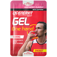 Load image into Gallery viewer, ENERVIT One Hand Energy Gel Raspberry
