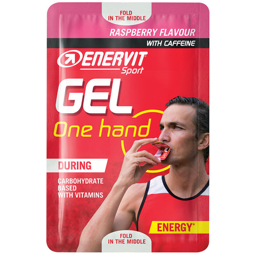 ENERVIT One Hand Energy Gel Raspberry
