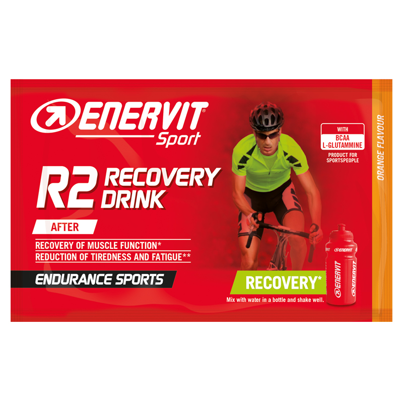 ENERVIT R2 Recovery Drink Orange 20 x 50g sachets