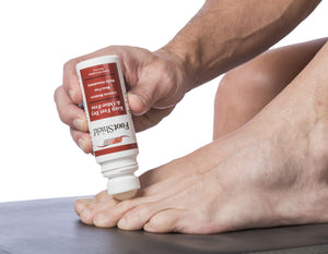 Foot shield for athletes foot