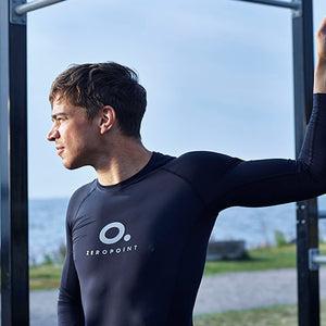 Zeropoint Performance Compression Long Sleeve Top Men, Black side