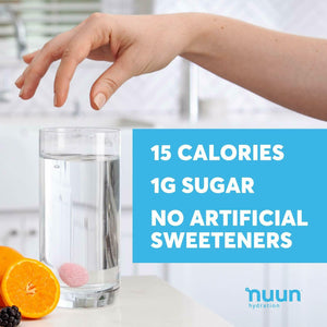 Nuun Sport Hydration Tabs with Electrolytes and Vital Minerals no Artificial sweetners