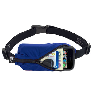 Spibelt Original running belt blue