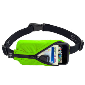Spibelt Original running belt Lime