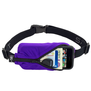 Spibelt Original running belt Purple
