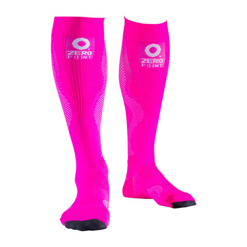 Zeropoint Compression socks pink
