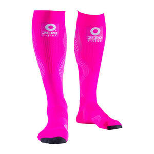 ZEROPOINT Compression Socks Pink Womens