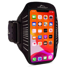 Load image into Gallery viewer, Armpocket Racer Edge, thin armband for iPhone 11/11 Pro/11 Pro Max, Galaxy Note 10/S20/S10+ and other full-screen devices