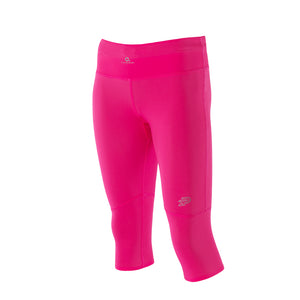 Zeropoint Compression 3/4 tights pink front