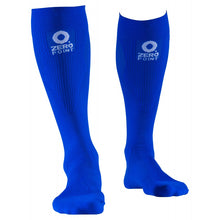 Load image into Gallery viewer, Zeropoint Compression socks blue intense