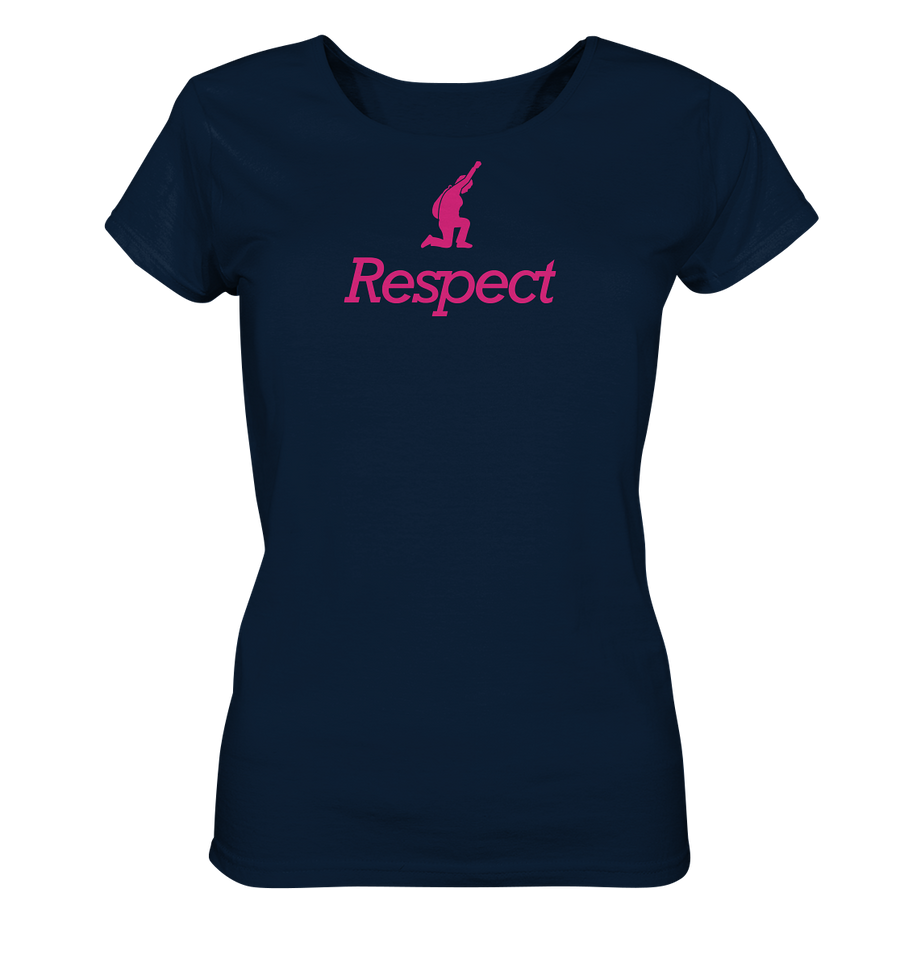 Respect Organic Shirt Ladies laut - pink -