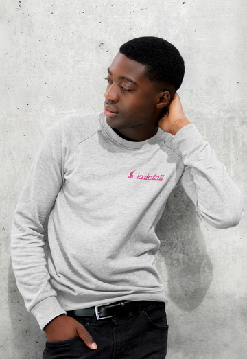 -LEISE- pink - Gents Organic Pulli