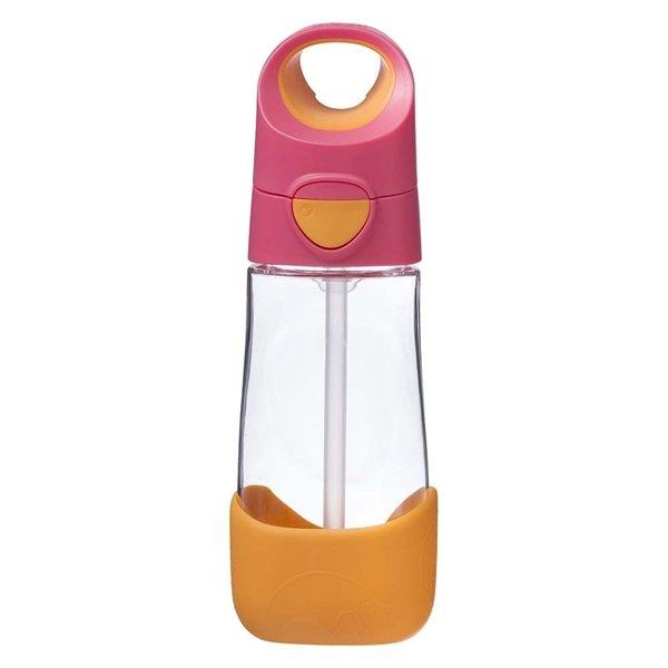 b.box Clear Drink Bottle Tweedlenz Strawberry Shake