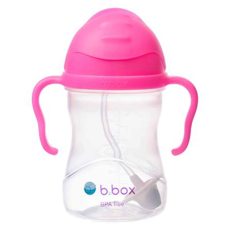 bbox Sippy Cup Eat & Drink b.box Pink Pomegranate