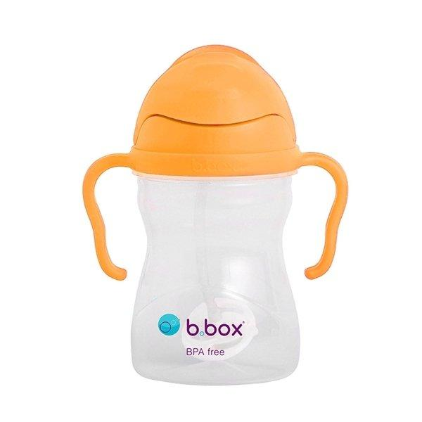 b.box Sippy Cup Tweedlenz Neon Orange Zing