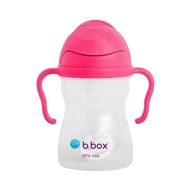 b.box Sippy Cup Tweedlenz Raspberry