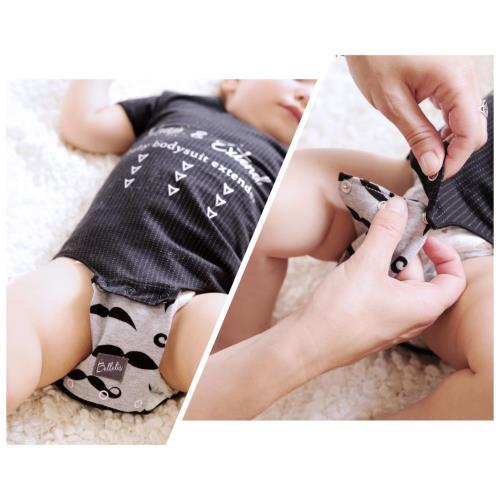 Bellelis Baby Bodysuit Extender - 2 pack Sleep & Wear Bellelis