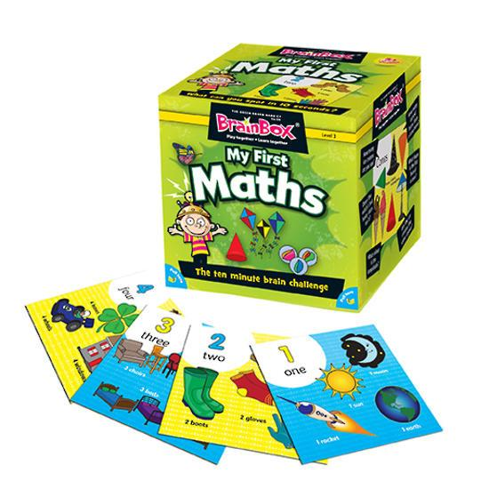 BrainBox My First Maths - 55 Cards Learn & Play Logical Toys