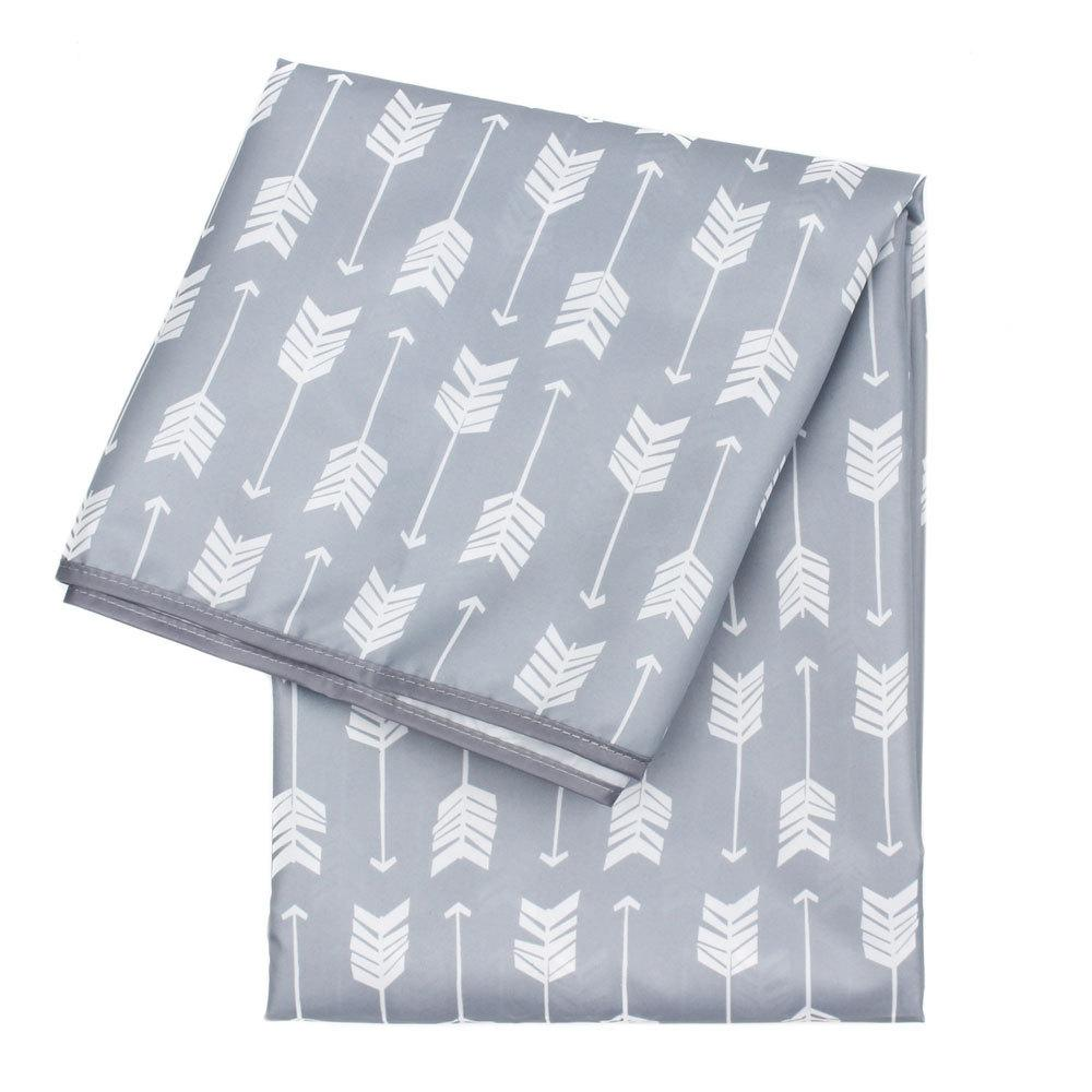 Bumkins Splat Mat [PRE-ORDER] Eat & Drink Bumkins Grey Arrow