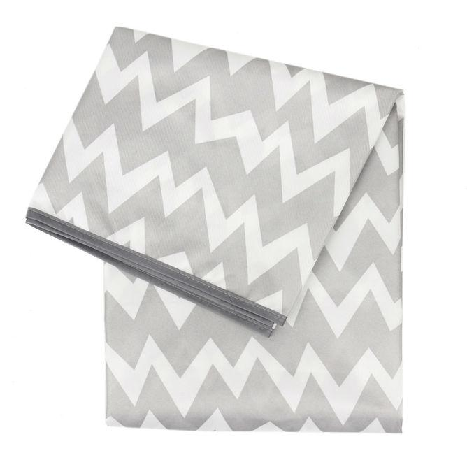 Bumkins Splat Mat [PRE-ORDER] Eat & Drink Bumkins Grey Chevron