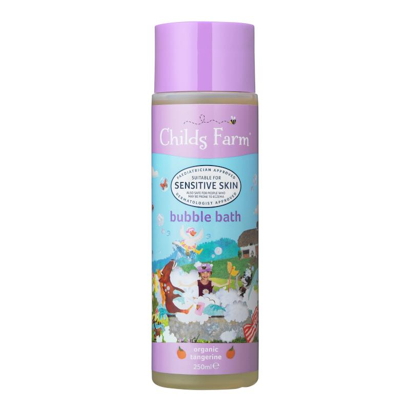 Childs Farm - Bubble Bath - Organic Tangerine Bath & Care Childs Farm