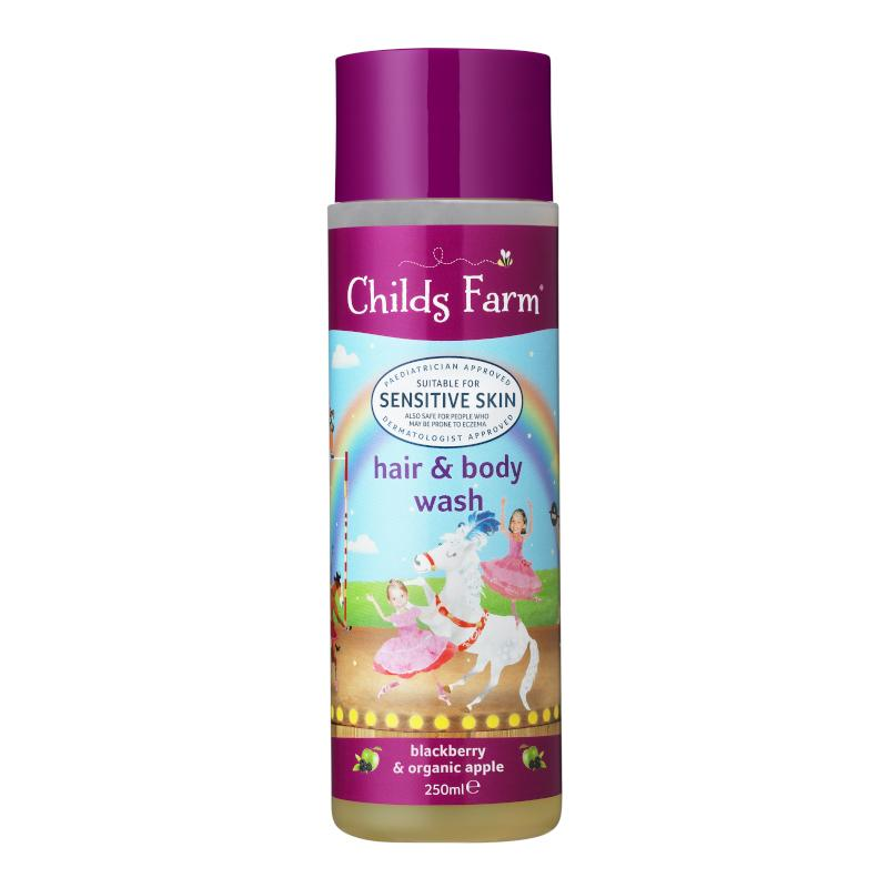 Childs Farm - Hair & Body Wash - Blackberry & Organic Apple Bath & Care Childs Farm