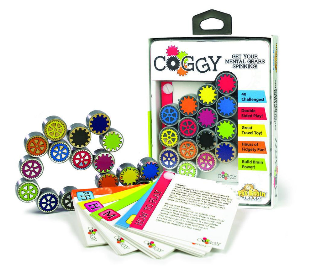 Coggy Game Learn & Play Fat Brain Toys