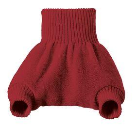 Disana Woollen Overpants Tweedlenz Bordeaux 12-24 months