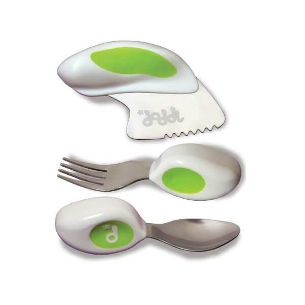 Doddl Cutlery Set - 3 Piece Tweedlenz Green