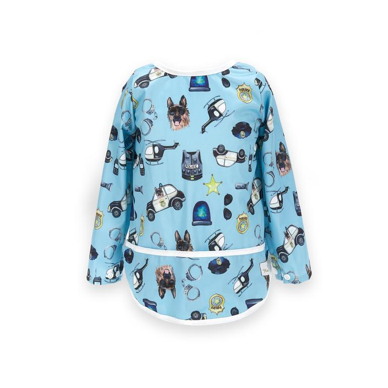 Fudgey Pants Sleeved Bib (pre-order) Eat & Drink Fudgey Pants Ten 7 Medium | 18-36 months