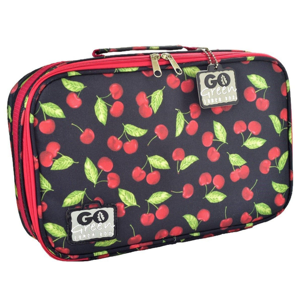 Go Green Lunch Box Set Eat & Drink Go Green Cherries Jubilee - PURPLE
