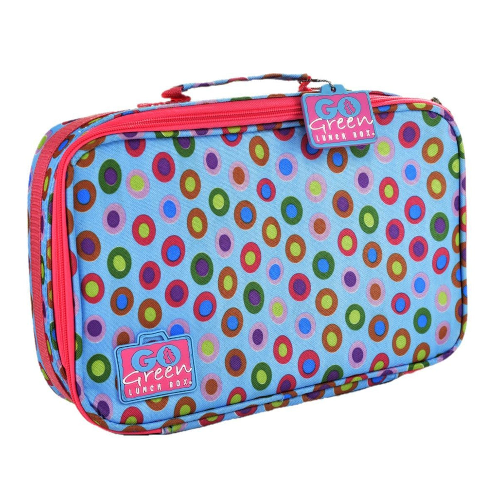 Go Green Lunch Box Set Eat & Drink Go Green Confetti - PINK
