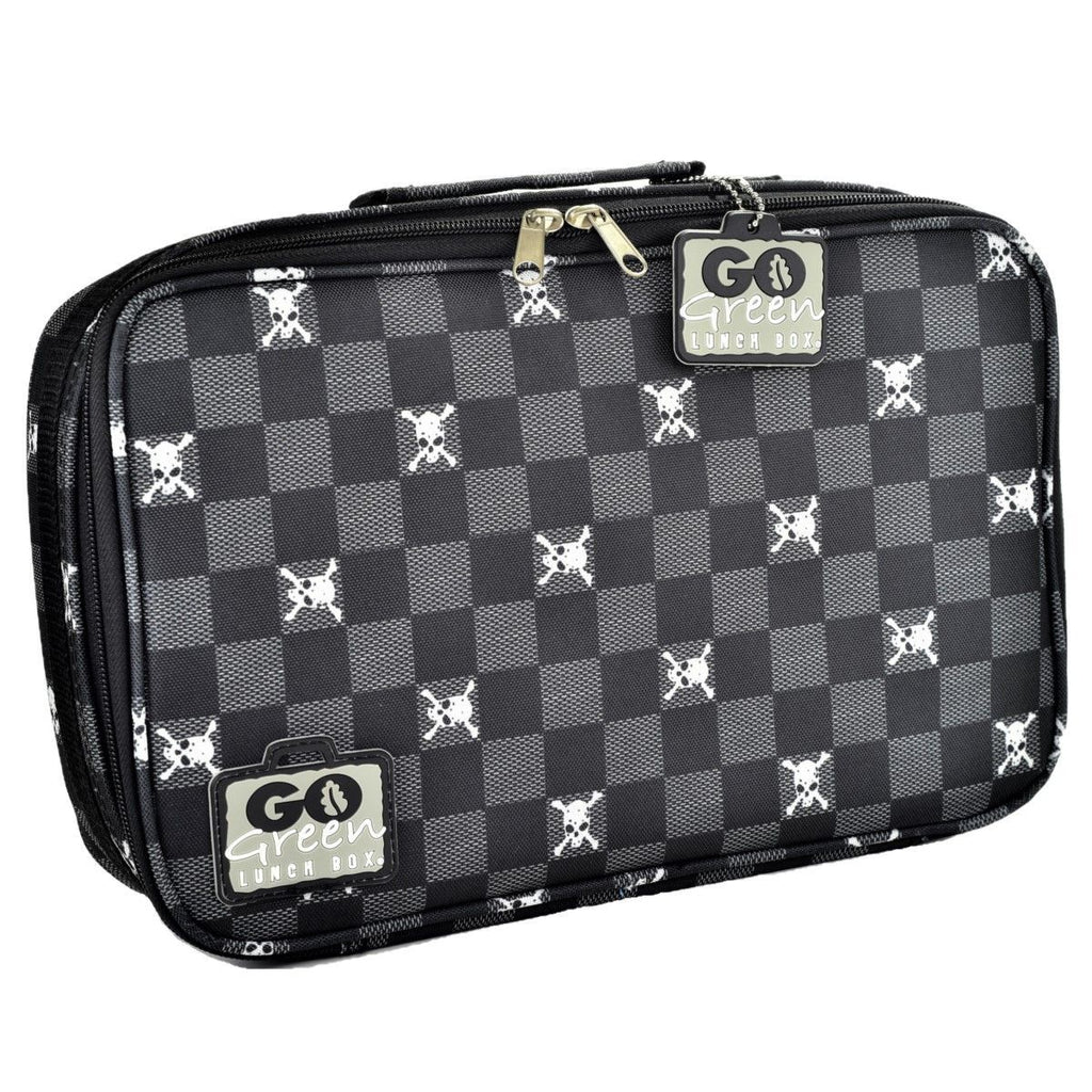 Go Green Lunch Box Set Eat & Drink Go Green Jolly Roger - BLUE