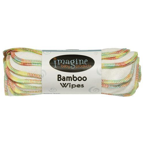 Imagine Bamboo Cloth Wipes - 10 pack Nappies Imagine Baby