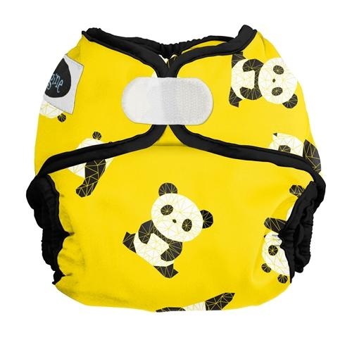 Imagine Newborn Cover Nappies Imagine Baby Panda Fold [PRE-ORDER] Hook & Loop