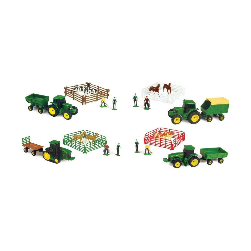 John Deere 10 Piece Mini Farm Set Learn & Play John Deere