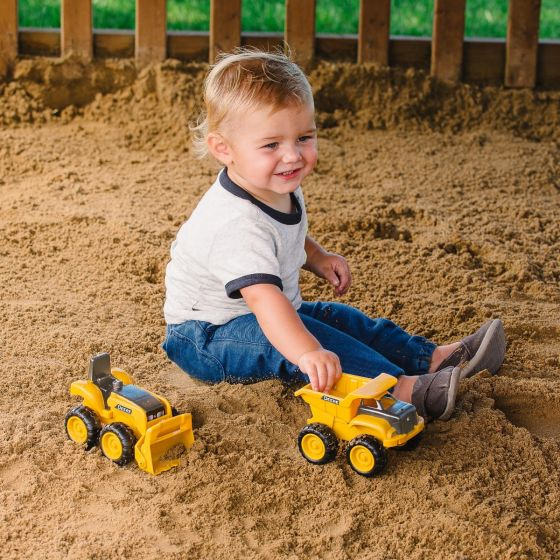 John Deere Sandbox Construction - 2 pack Learn & Play John Deere