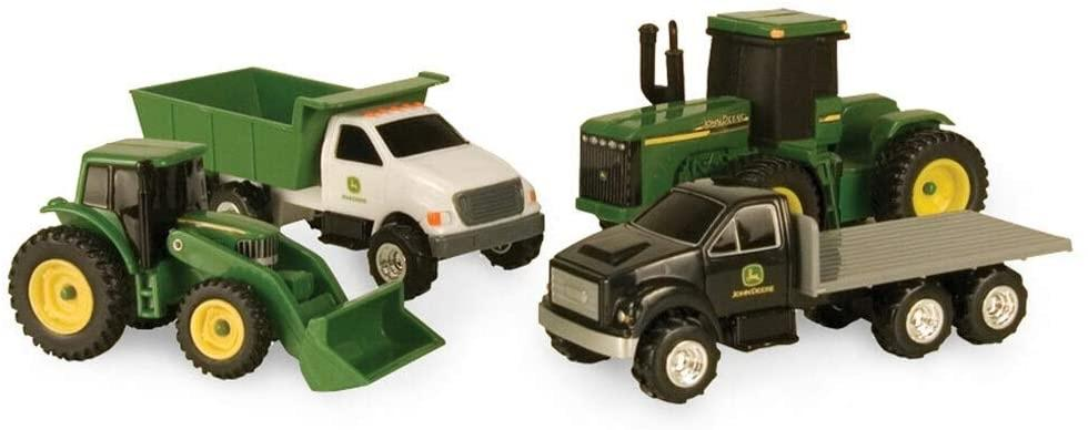 John Deere Vehicle - 4 Pack Learn & Play John Deere