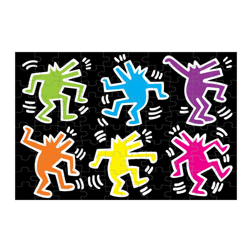 Keith Haring Glow in the Dark Puzzle Learn & Play Mudpuppy
