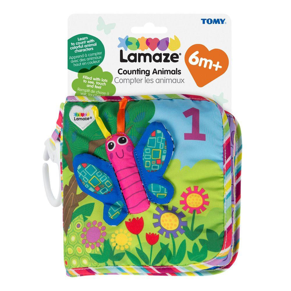 Lamaze Counting Animals Soft Book Learn & Play Lamaze