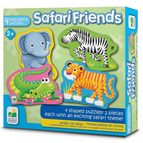 Learning Journey Safari Friends Shaped Puzzle Tweedlenz