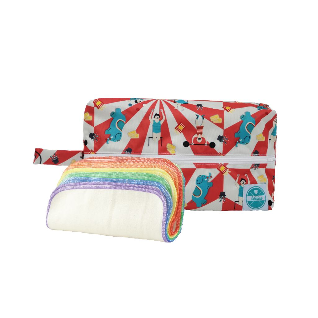 Luludew Wipe Bag Set Tweedlenz Big Top