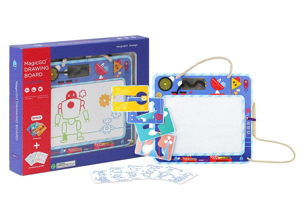 Magic Go Drawing Board Learn & Play Logical Toys Doodle Robot