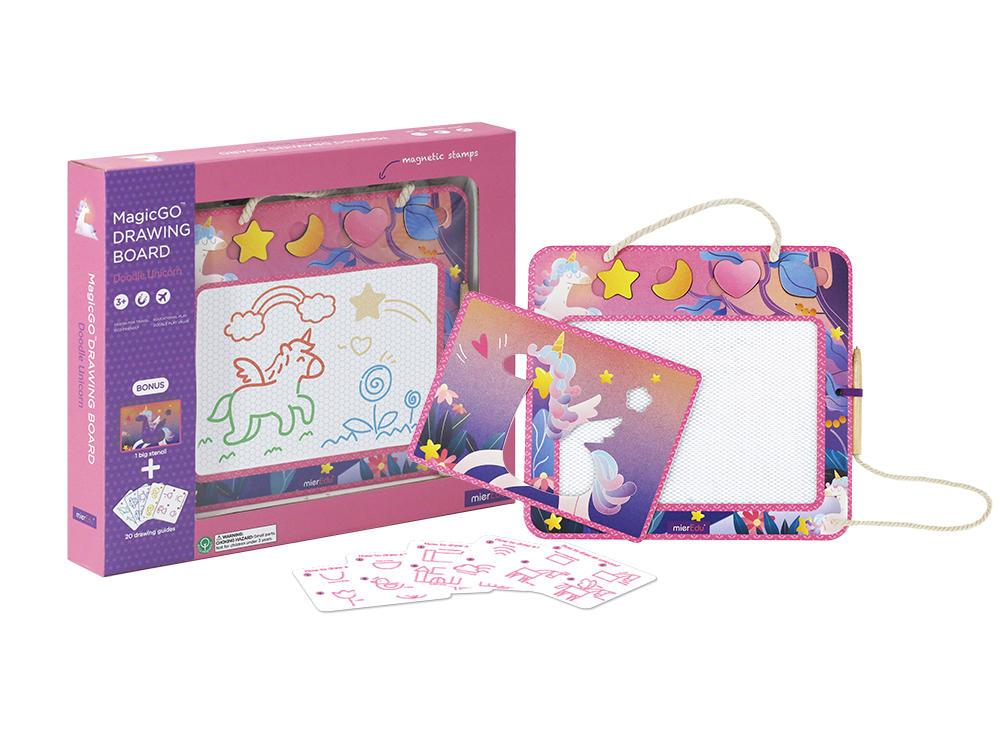 Magic Go Drawing Board Learn & Play Logical Toys Doodle Unicorn