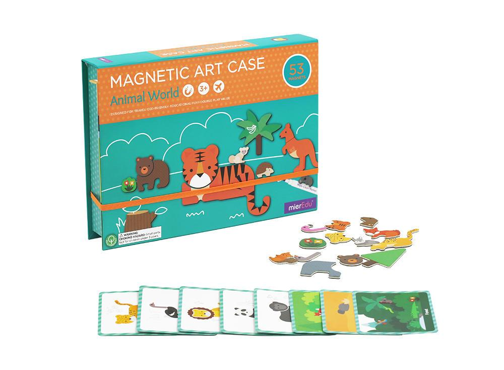 Magnetic Art Case Learn & Play Logical Toys Animal World