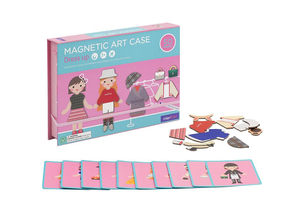 Magnetic Art Case Learn & Play Logical Toys Dress Up