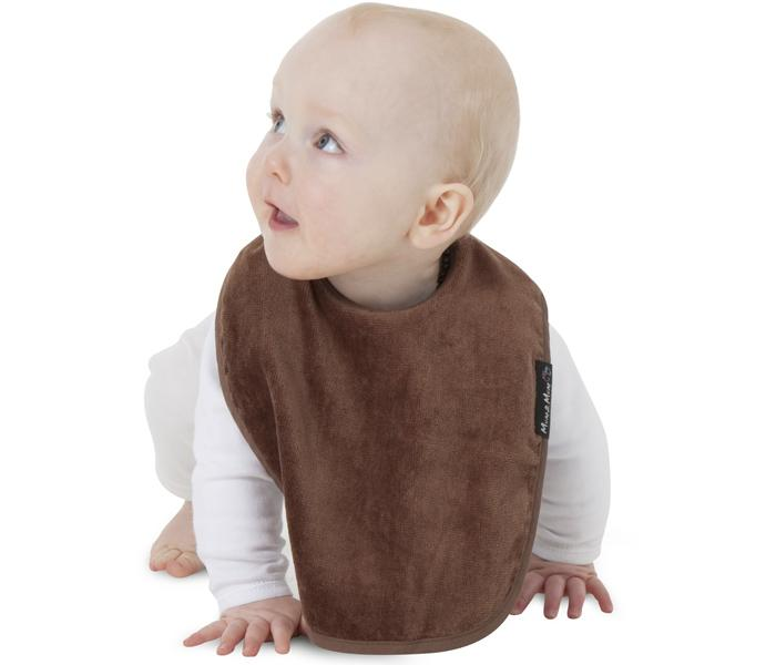 Mum2Mum Standard Wonder Bib Tweedlenz Chocolate