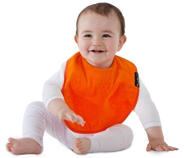 Mum2Mum Standard Wonder Bib Tweedlenz Orange